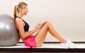 Wallpaper workout, fitness, exercises, pilates, activewear