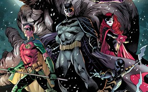 Picture Snow, Heroes, Batman, Costume, Belt, Mask, Comic, Heroes, Cloak, Superheroes, Batman, Snow, Robin, Bruce Wayne, …
