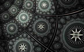 Picture rendering, pattern, fractal