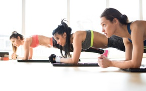 Picture female, workout, fitness