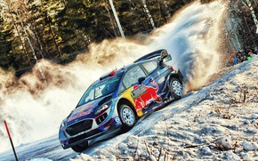 Picture Ford, Winter, Auto, Snow, Sport, Machine, Ford, Race, Skid, Car, WRC, Rally, Rally, Fiesta, Fiesta, …