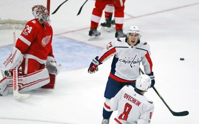 Picture The game, Sport, Ice, Washington, Ice, Detroit, NHL, NHL, Washington Capitals, Ovechkin, Hockey, The Washington …