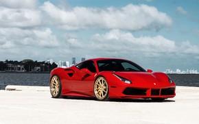 Picture Ferrari, GTB, 488, ANRKY, AN33