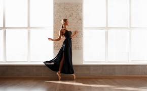 Picture girl, ballerina, Daria, The Alexander Sasin