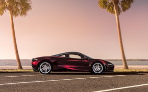 Picture McLaren, supercar, side view, 2018, MSO, 720S