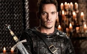Picture sword, armor, man, ken, blade, Vikings, Jonathan Rhys Meyers, tv series, Heahmund