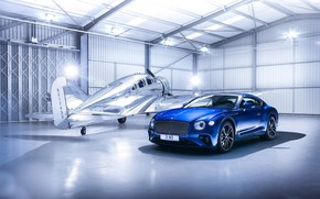 Wallpaper Bentley, Continental, Bentley, Continental GT, the plane