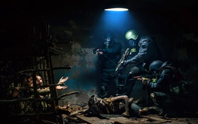 Picture art, metro2033, Hostages