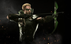 Picture bow, Green Arrow, Oliver Queen, archer, arrow, NetherRealm Studios, Injustice 2