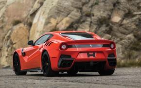 Picture Ferrari, supercar, rear view, F12, 2017, TDF