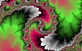 Picture abstraction, background, pattern, fractal