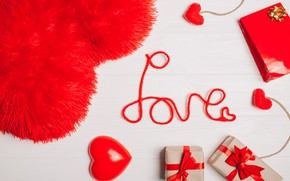 Picture love, gifts, Holiday, Valentine's day