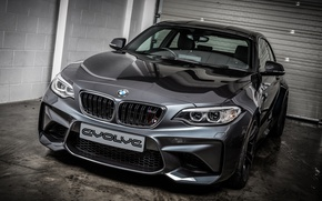 Picture BMW, coupe, BMW, black, Black, Coupe, 2-Series, F87