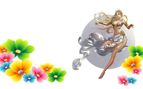 Picture girl, the game, art, Aphrodite, Donfoo