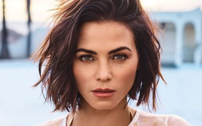 Picture look, girl, face, Photo, blouse, Jenna Dewan