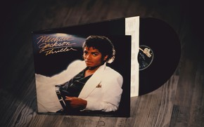 Picture Michael Jackson, vinyl, Thriller, RememberWhen