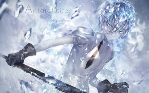 Picture anime, crystals, Art, House no Kuni