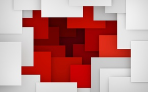 Wallpaper 3D rendering, background, design, colorful, abstract, geometry, geometric shapes