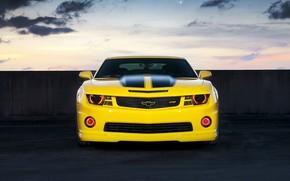 Wallpaper Chevrolet, yellow, Camaro