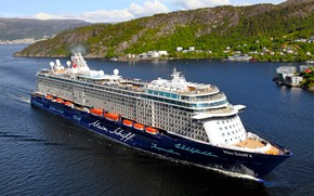 Picture Sea, Liner, The ship, Passenger, On the go, Passenger liner, My, TUI Cruises, Royal Caribbean …