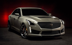 Picture Cadillac, One, CTS-V, Forged, Wheels, Piece, Forgeline, Monoblock, VX1