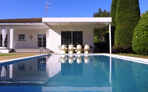 Picture the city, Villa, pool, architecture