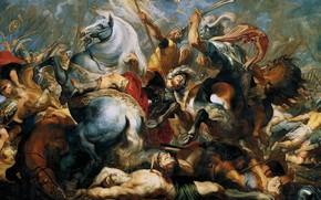 Picture picture, genre, Peter Paul Rubens, Pieter Paul Rubens, The Death Of Publius Decius Musa