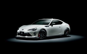 Picture white, Toyota 86, GR Sports