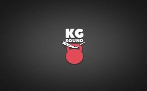 Picture minimalism, logo, official, kgsound, beatmaker, kilograms sound