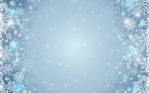 Wallpaper winter, snowflakes, background, winter, background, snowflakes