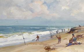 Picture sea, beach, landscape, picture, Jensen Beach. FL, Emile Albert Group