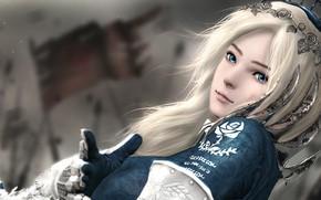Picture girl, Garry's Mod, by sculp2, Vindictus Delia