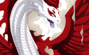 Wallpaper game, dragon, anime, Irene Belserion, Fairy Tail, dragon slayer, manga, by animefanno1, Eileen, dragon form