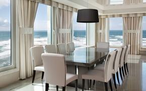 Picture room, Villa, interior, dining room, Tel-Aviv