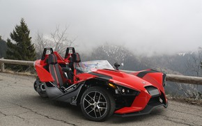 Picture beautiful, comfort, hi-tech, Polaris, Slingshot, technology, sporty, tricycle, 039