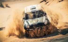 Picture Sand, Auto, Mini, Sport, Desert, Speed, Race, Car, 308, Rally, SUV, Rally, X-Raid Team, MINI …