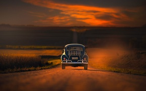 Picture road, Chrysler, space, car