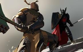 Picture axe, sword, armor, Game of thrones, Targaryen, Baratheon