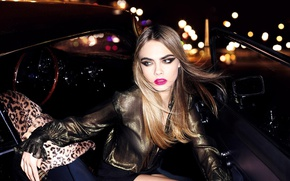 Picture look, pose, model, makeup, actress, hair, make-up, Cara Delevingne, Cara Delevingne