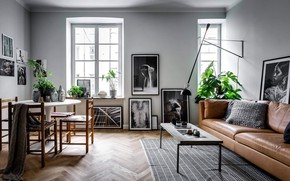 Picture design, style, interior, living room, Home in Stockholm