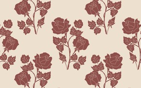 Picture flowers, background, roses, texture
