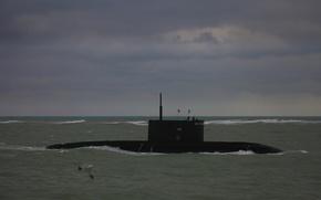 Picture boat, underwater, Novorossiysk, The black sea, diesel