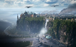 Picture Star Wars, game, vegetation, Star Wars Battlefront II, Star Wars Battlefront 2