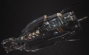 Picture transport, ship, camera, Fractured Space, TDS Paladin