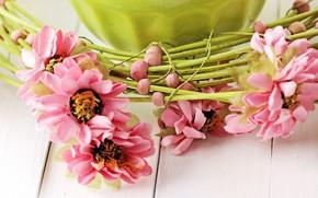 Picture macro, Flowers, wreath