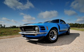 Picture Boss 302, Ford Mustang, 1970, Fastback