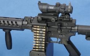 Picture gun, weapon, Colt, rifle, ammunition