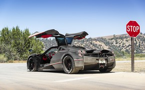 Picture Machine, Pagani, car, To huayr, The Monza Lisa