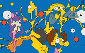 Picture The simpsons, Figure, Simpsons, Art, Chemistry, Cartoon, The Simpsons, 20th Century Fox, Character, Todd, The …