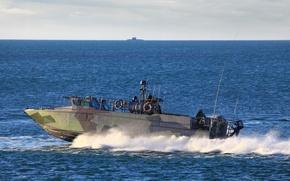 Picture boat, combat, purpose, The black sea, special, БК18
